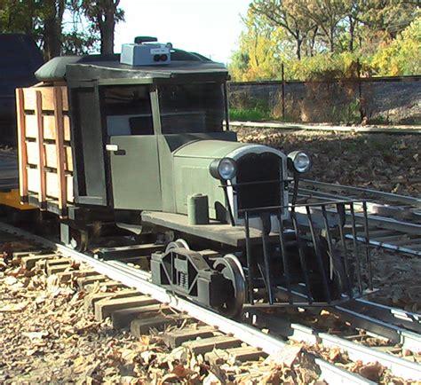 backyard ride on train a hobby foundry