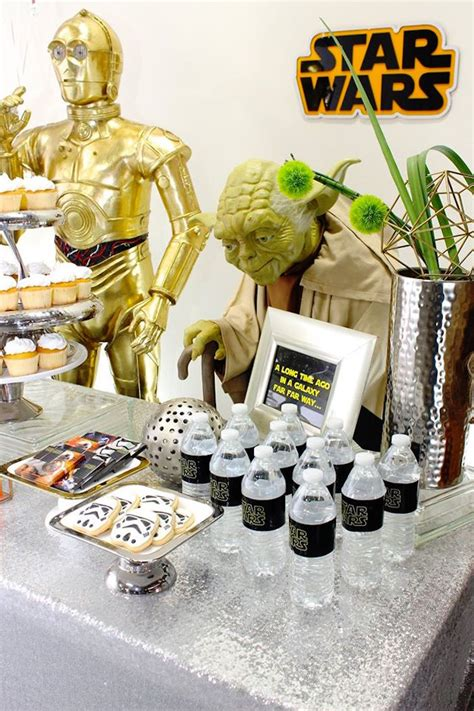 Kara's Party Ideas » Movie Celebration Star Wars Birthday Party
