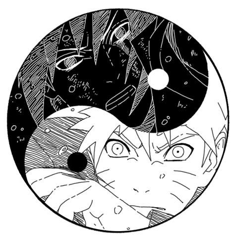 naruto yin yang yin and yang by v3rc4 naruto pinterest by and yin