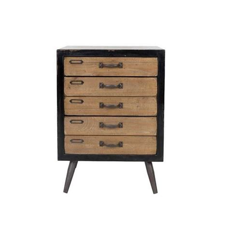 M Commode by Commode Vintage Bois 3 Tiroirs Sol M The D 233 Co