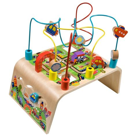 Busy Bead Maze Toddler Activity Center Race Around