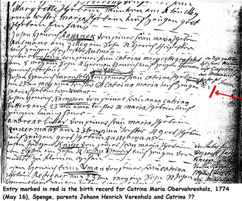 Mormon Church Birth Records Spenge Germany 1800s Church Records