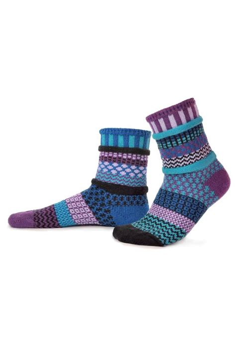 solmate socks mismatched knit socks from philadelphia by