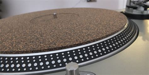 Turntable Rubber Mat by Analogue Studio Cork Rubber Turntable Mat Analogue Studio
