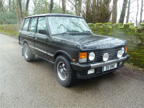 land rover overfinch d5 rrc 1989 range rover classic 5 7i overfinch land