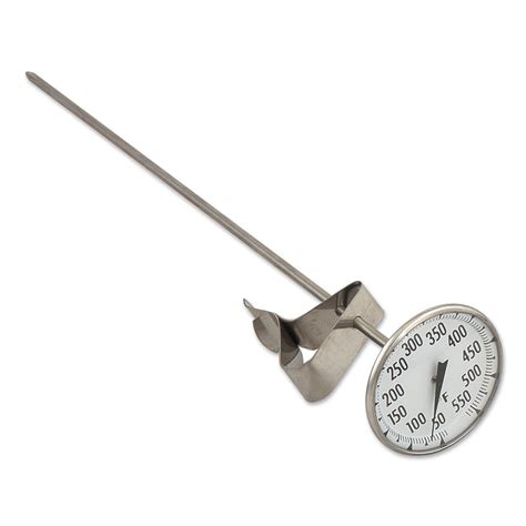 Fry Thermometer browne halco ct84122 12 quot fry thermometer 2 1 8
