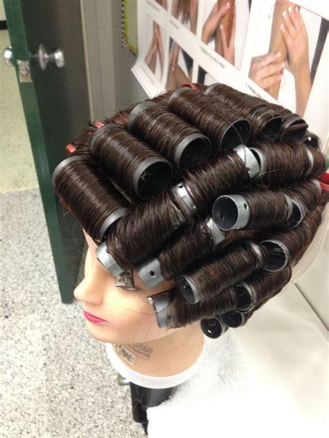 roller set rollers and vintage on pinterest full head roller set roller set pinterest rollers
