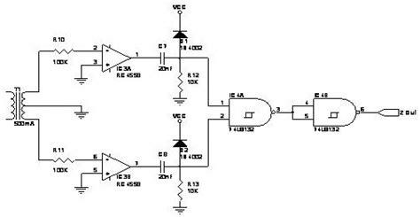 Penguat Operasional Op Teori Dan Rangkaian Dasar Original zero crossing detector