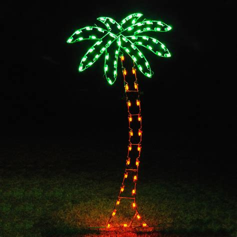 shop holiday lighting specialists 8 83 ft palm tree