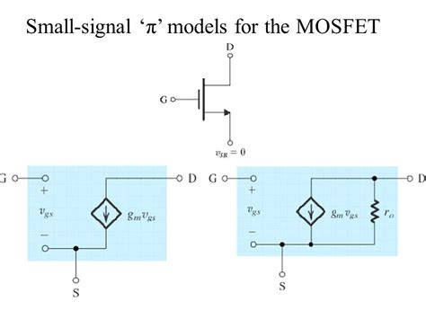 mosfet transistor model mosfet transistor small signal model 28 images transistor 2 ece tutorials high frequency