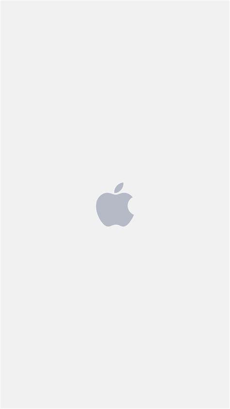iphone apple logo white art illustration wallpaper