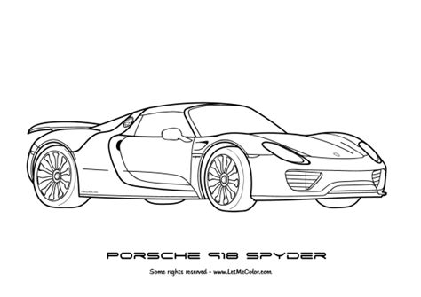 coloring pictures of supercars coloring supercars letmecolor