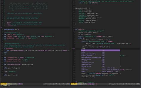 emacs themes gallery space vim lean and mean spacemacs ish vim distribution