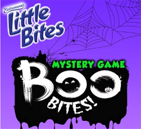 Promo Games Sweepstakes - entenmanns little boo bites mystery game sweepstakes