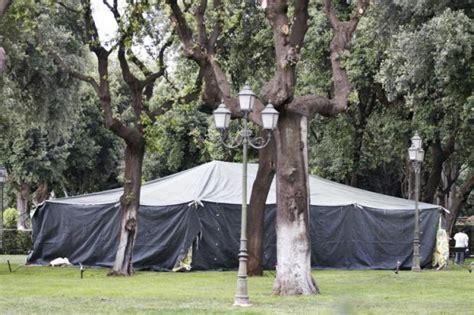tenda gheddafi era meglio una tenda libica a villa borghese che tante