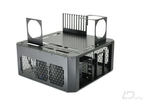 pc bench table ld pc v4 bench table black ld cooling computer cases