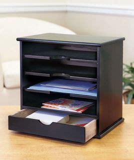 Bill Organizer Desk White Wood Desktop Desk Mail Holder Bill Organizer Drawer Office Accessory