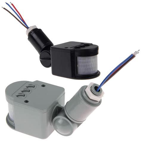outdoor led light motion sensor detector security pir