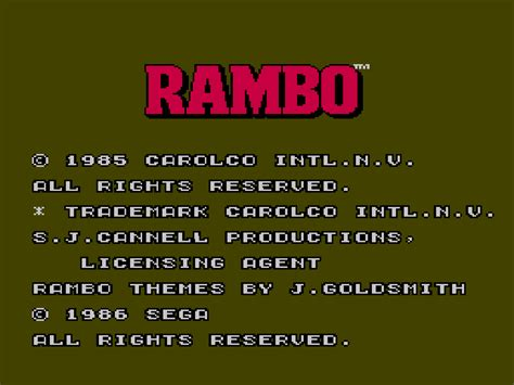 rambo blood part2 rambo blood part 2 gamefabrique