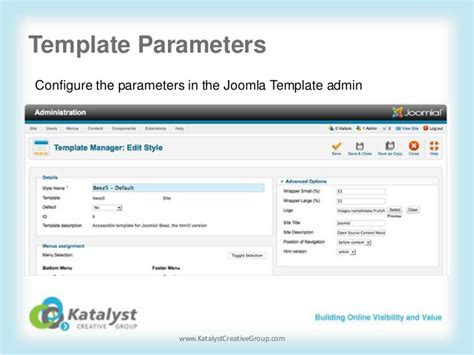 custom joomla template creating custom templates for joomla 2 5
