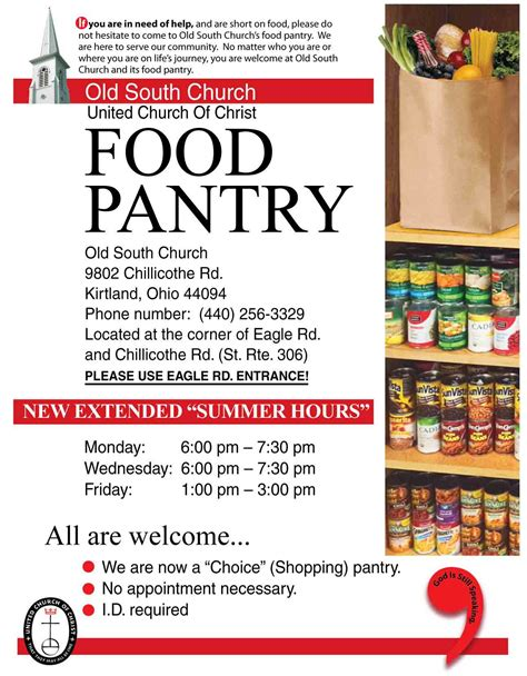 church pantry