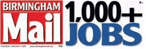 Birmingham Evening Mail Jobs Click And Find It On Excite