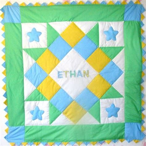 quilt pattern baby boy baby boy quilt personalized baby boy quilt quilting