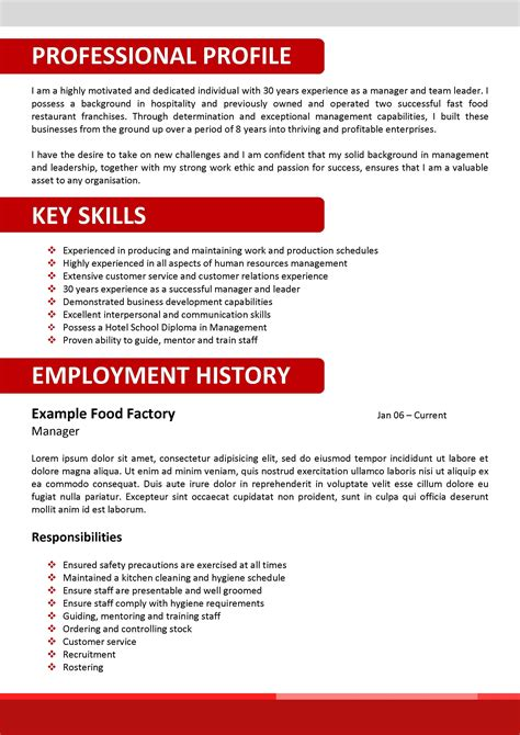 corporate resume templates free resume templates wordpad template simple format