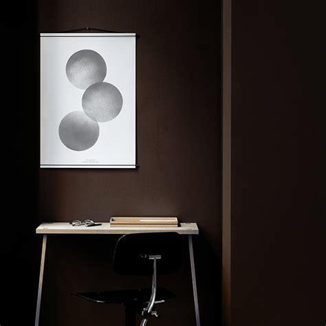 design poster hanger moebe poster hanger black finnish design shop