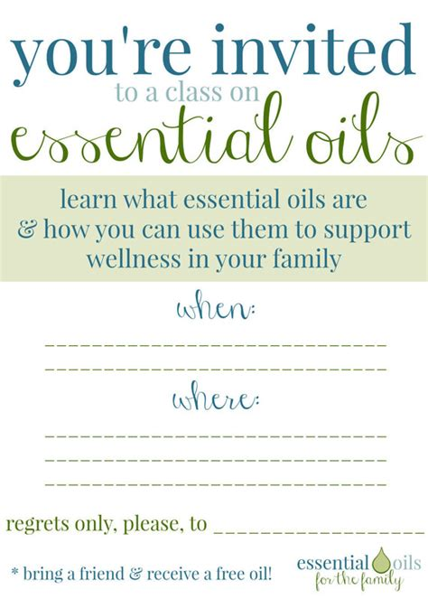 Custom Essential Oil Class Invitation By Onedropdesigns On Etsy Oils Pinterest Essentials Doterra Invite Template