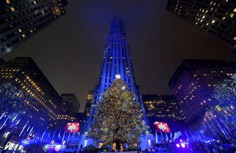 encendido 225 rbol de navidad de nueva york