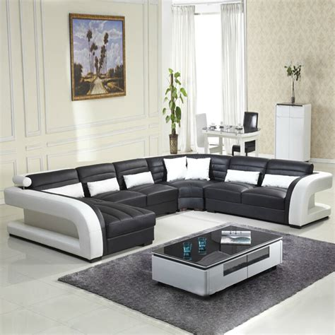 2016 New Style Modern Sofa Hot Sales Genuine Leather Sofa Modern Furniture Living Room Designs