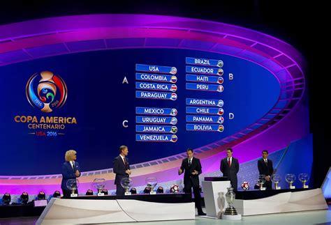 Calendario De La Copa America Calendario De Los Partidos De La Copa Am 233 Rica Centenario