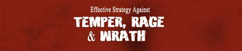 temper temper an effective strategy to conquer your anger and hostility books effective stratedy against temper rage wrath