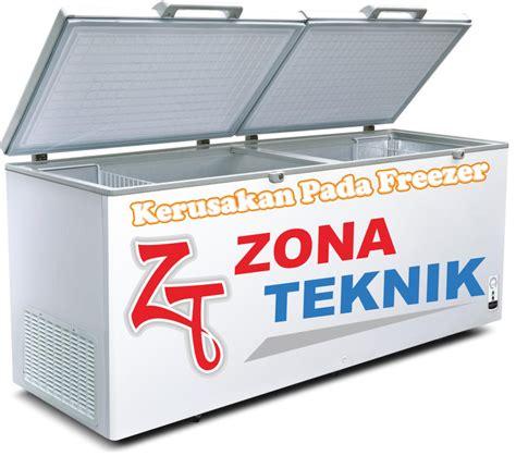 Freezer Jogja kerusakan pada freezer tutorial by zona teknik service