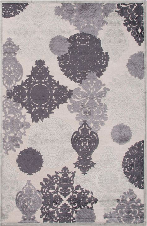 plum and grey rug jaipur fables wistful light gray plum kitten 2 x3 rug transitional area rugs by plushrugs