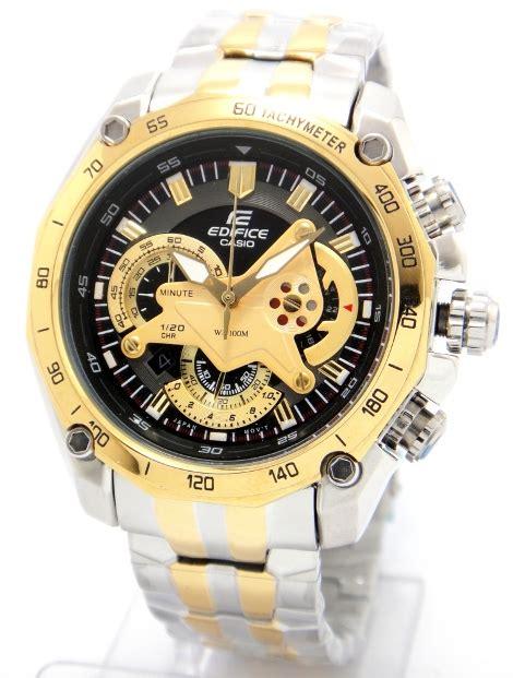 Casio Edifice Ef 550 Oribm casio edifice ef 550d gold two tone chronograph
