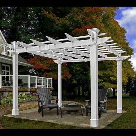 vinyl pergola materials pergolas garden pergolas vinyl pergolas chadsworth columns