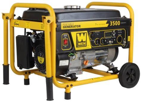 Senter Swat 3000 Watt wen 56352 3000 running watts 3500 starting watts gas powered portable generator survival by