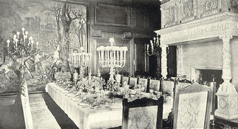 illustration  formal dinner post emily  etiquette
