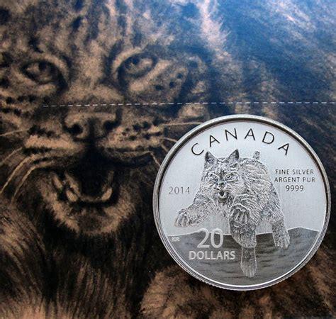 canada 20 dollars 2014 bobcat mint pack zilver catawiki