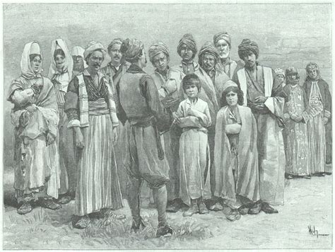 Hochzeit Yeziden by Engraving Kurds Of Kurdistan Style Realism 1899