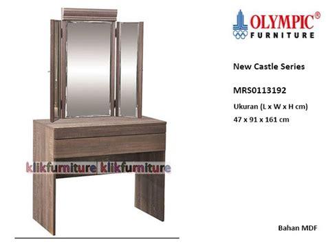 Pasaran Meja Rias Olympic harga meja rias new castle olympic mrs0113192 promo