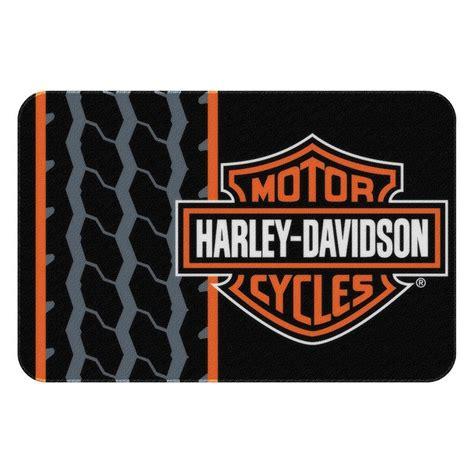 harley davidson rugs harley davidson drag race rug mat 20x30 inch birthday gift ebay
