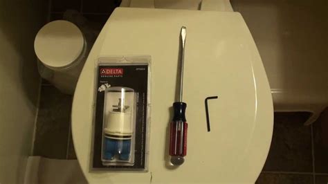 replacing bathtub faucet cartridge how to replace a delta tub faucet cartridge youtube