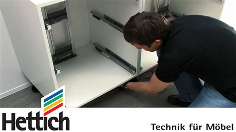 Ikea Kitchen Cabinet Assembly easys montaje interior del caj 243 n de hettich youtube