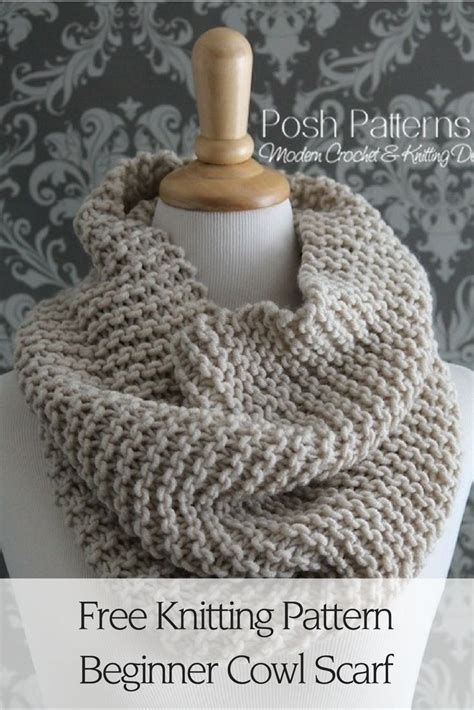 knit cowl pattern beginner 14726 best images about sew crochet knit galore on