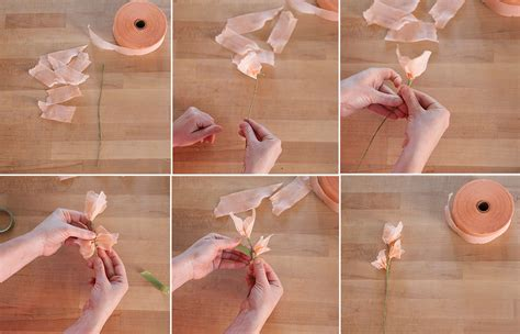 how to make floral arrangements step by step diy how to make paper flower centerpieces creativebug blog