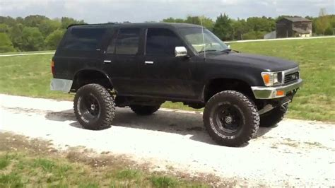 toyota 4runner lifted for sale 1991 toyota 4runner 4x4 lifted for sale