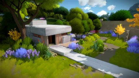 the witness artists explain how the witness got its special look